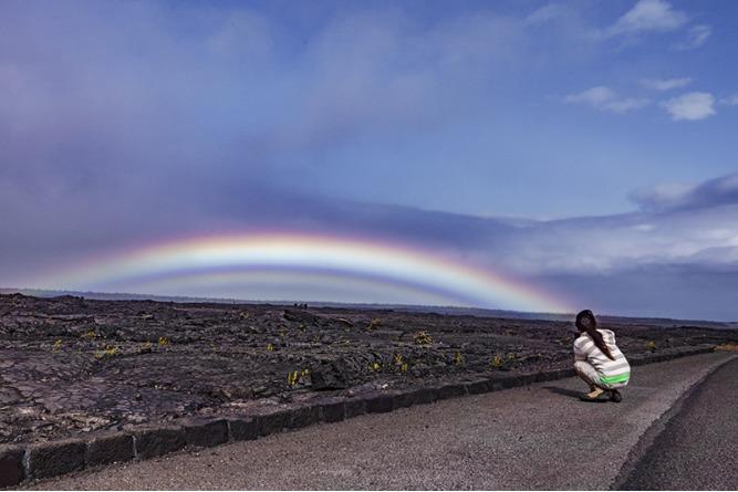 語 虹 ハワイ